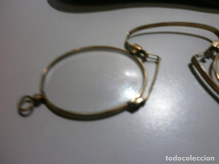 Antigüedades: antiguas gafas siglo XIX - Foto 2 - 202391331