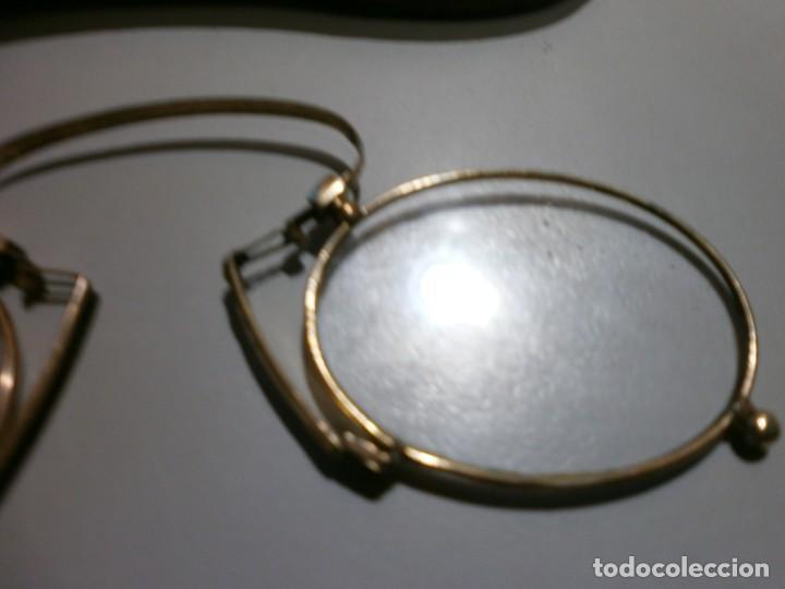 Antigüedades: antiguas gafas siglo XIX - Foto 3 - 202391331