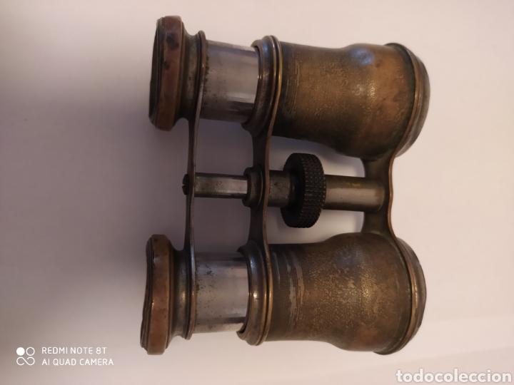 Antigüedades: Prismáticos antiguos de Cobre - Foto 5 - 202432757