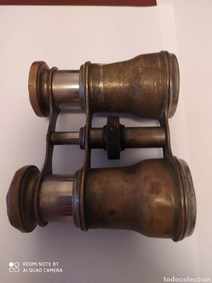 Antigüedades: Prismáticos antiguos de Cobre - Foto 12 - 202432757