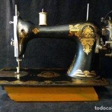 Antigüedades: ANTIGUA MÁQUINA DE COSER YDEAL. CIRCA DE 1900. Lote 202549968