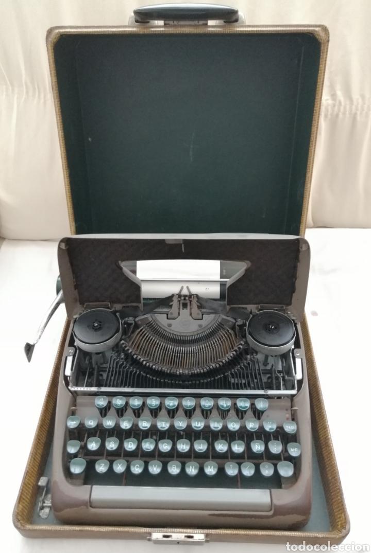 Antigüedades: Antigua Maquina de escribir Smith Corona . - Foto 2 - 202583363
