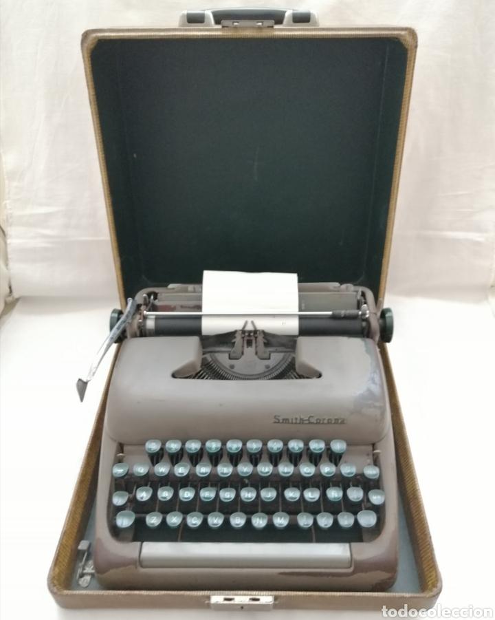Antigüedades: Antigua Maquina de escribir Smith Corona . - Foto 4 - 202583363