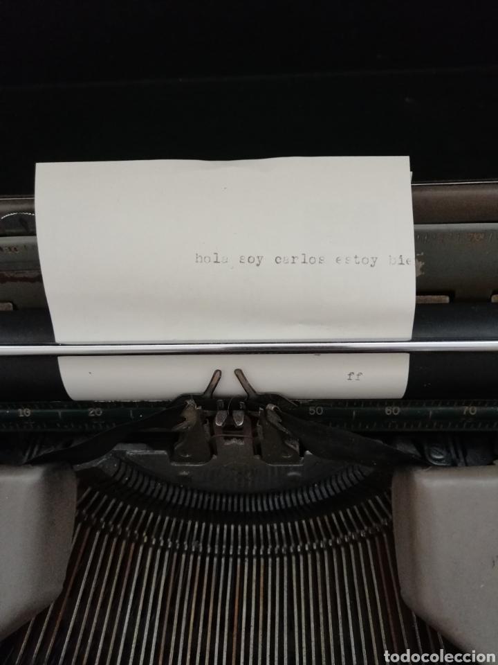 Antigüedades: Antigua Maquina de escribir Smith Corona . - Foto 7 - 202583363