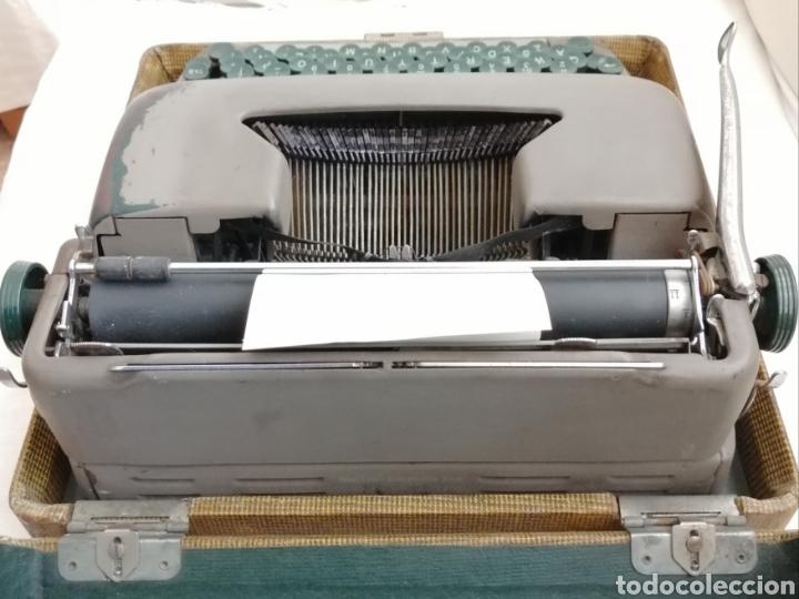 Antigüedades: Antigua Maquina de escribir Smith Corona . - Foto 8 - 202583363