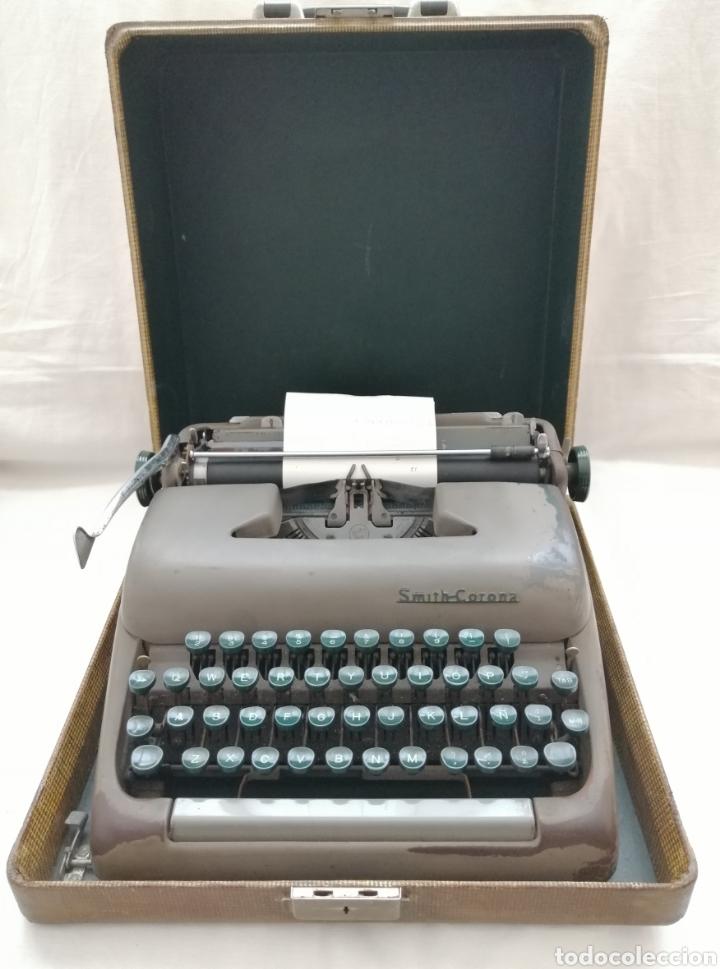 ANTIGUA MAQUINA DE ESCRIBIR SMITH CORONA . (Antigüedades - Técnicas - Máquinas de Escribir Antiguas - Smith)