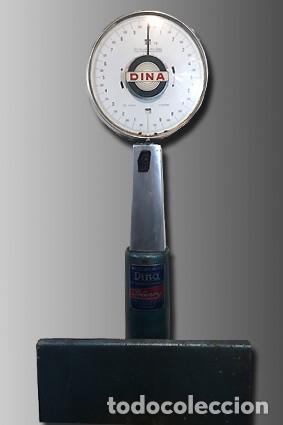 BÁSCULA AUTOMÁTICA DINA (Antigüedades - Técnicas - Medidas de Peso - Básculas Antiguas)