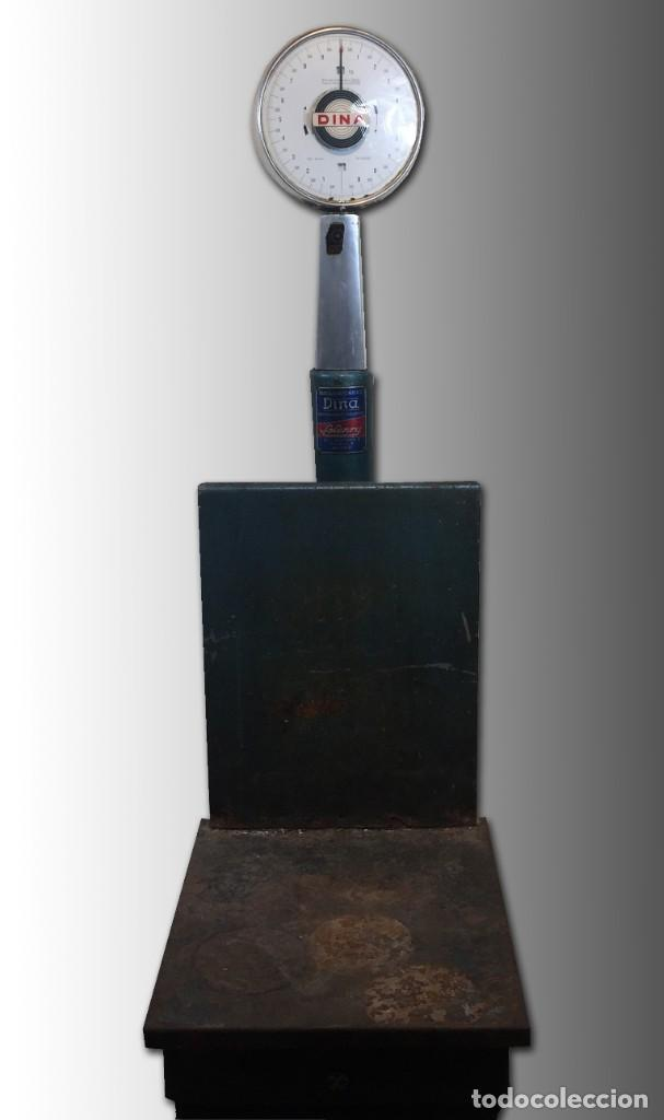 Antigüedades: Báscula automática DINA - Foto 2 - 202599961
