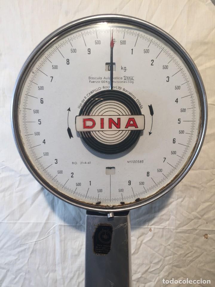 Antigüedades: Báscula automática DINA - Foto 4 - 202599961