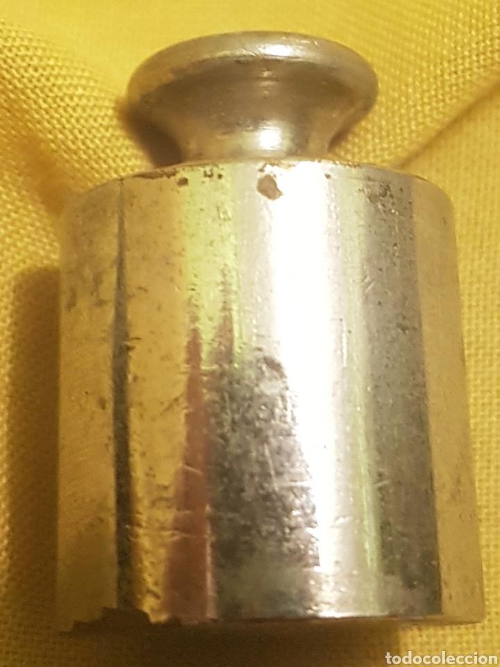 PESA , PONDERAL BALANZA 50 GRAMOS (Antigüedades - Técnicas - Medidas de Peso - Ponderales Antiguos)