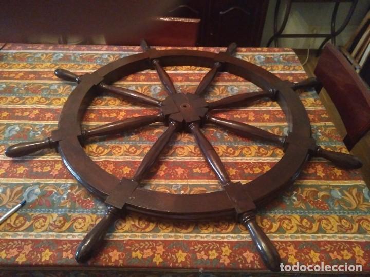 Antigüedades: Timón. 110 cm. - Foto 2 - 202633417