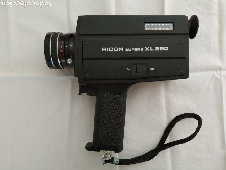 FILMADORA RICOH SUPER 8 XL 250 (Antigüedades - Técnicas - Aparatos de Cine Antiguo - Cámaras de Super 8 mm Antiguas)