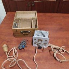 Antigüedades: ANTIGUO APARATO DE PIROGRABADO ELECTRÓNICO , INSTRUCCIONES EN FRANCÉS.. Lote 202701855