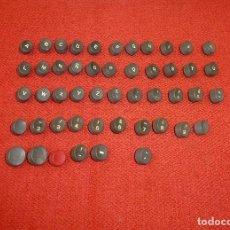 Antigüedades: CONJUNTO DE TECLAS PARA MAQUINA DE ESCRIBIR.. Lote 202726846