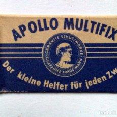 Antigüedades: HOJA DE AFEITAR ANTIGUA,APOLLO MULTIFIX,SIN USAR.. Lote 243140800