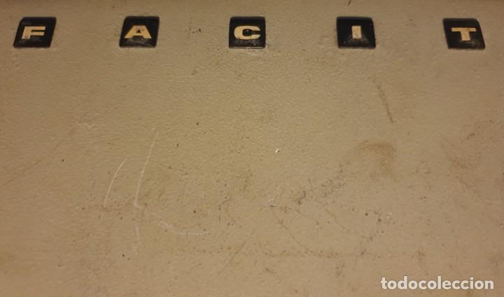 Antigüedades: CALCULADORA MECANICA FACIT AB - C1 - 13 - DESPIECE PARA REPUESTO - VER FOTOS - Foto 6 - 202766705