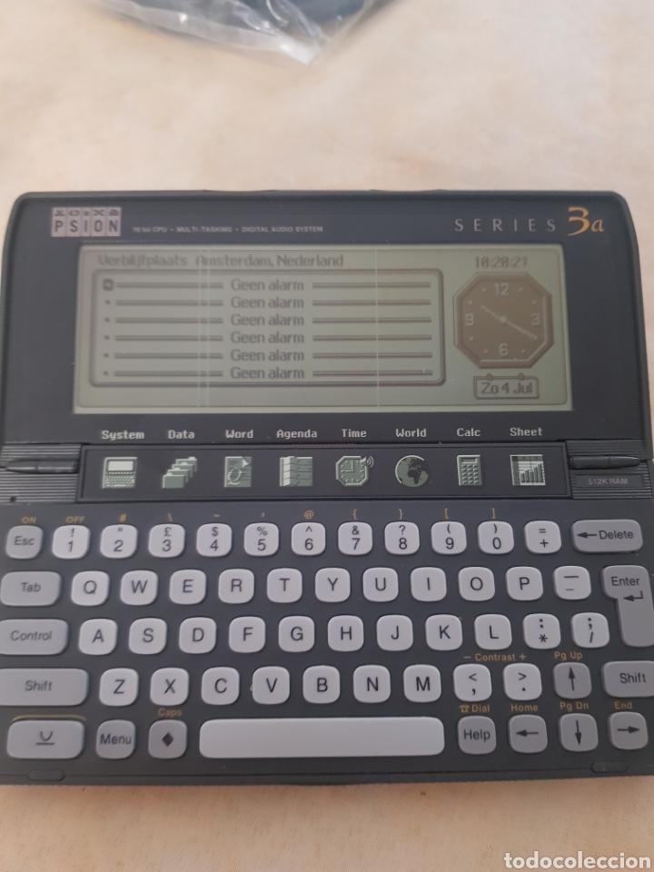 Antigüedades: PDA Psion Serie 3a Ordenador Portátil Vintage funciona muy bien 16 bits probado de CPU - Foto 4 - 202852447
