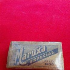 Antigüedades: PAQUETE DE 5 HOJAS MARUXA. Lote 202880495