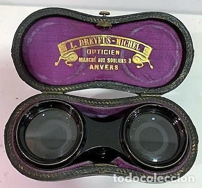 GEMELOS DE TEATRO. (Antigüedades - Técnicas - Instrumentos Ópticos - Binoculares Antiguos)