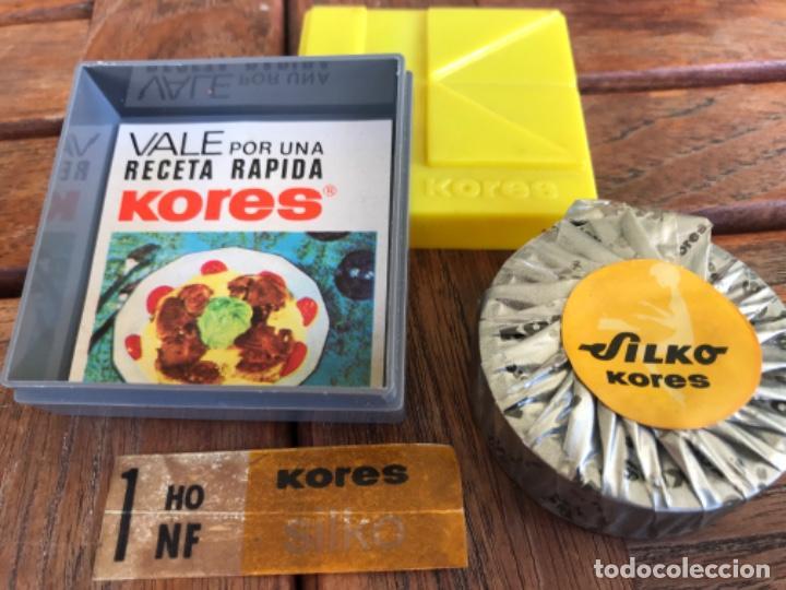 Antigüedades: Kores Silko. Antigua cinta máquina escribir Hispano Olivetti. Sin estrenar - Foto 3 - 203110120