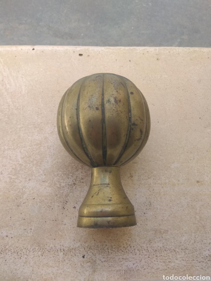 Antigüedades: Pomo - Bronce - Latón para Puerta o Barandilla - Foto 12 - 158449169