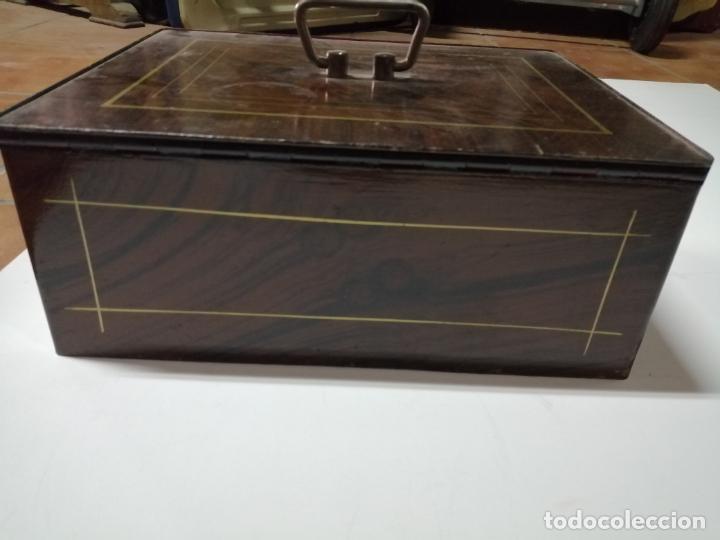 Antigüedades: caja de caudales años 50 - Foto 7 - 49051206