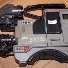 Antigüedades: CÁMARA S-VHS PROFESIONAL PANASONIC AG-7450-EP. Lote 203310042
