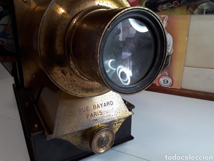 Antigüedades: Preciosa linterna mágica 5 RUE BAYARD PARIS 1754 (BONNE PRESS) - Foto 3 - 203319052