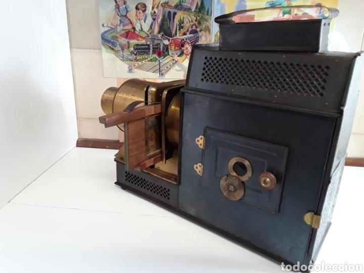 Antigüedades: Preciosa linterna mágica 5 RUE BAYARD PARIS 1754 (BONNE PRESS) - Foto 6 - 203319052