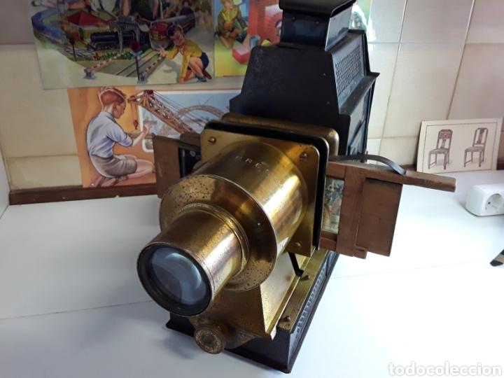 Antigüedades: Preciosa linterna mágica 5 RUE BAYARD PARIS 1754 (BONNE PRESS) - Foto 8 - 203319052