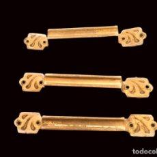 Antigüedades: TIRADORES DE BRONCE ANTIGUOS. Lote 203321377