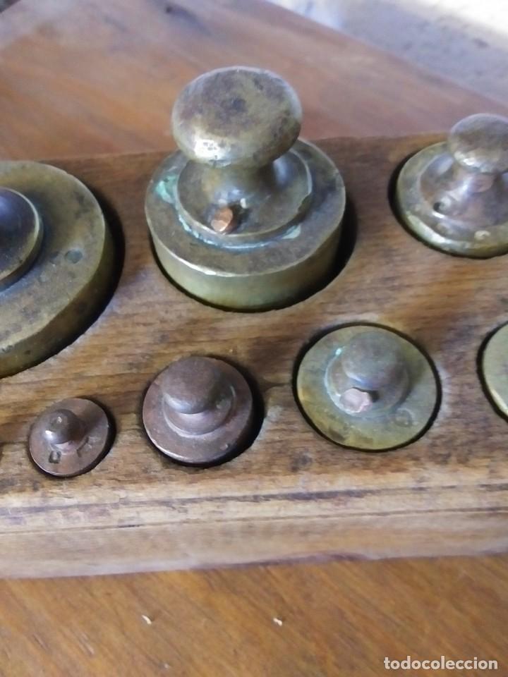 Antigüedades: TABLA DE PESAS - Foto 4 - 203388820