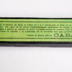 Antigüedades: ANTIGUO REPASADOR AFILADOR SUAVIZADOR DE NAVAJA. Lote 203449962
