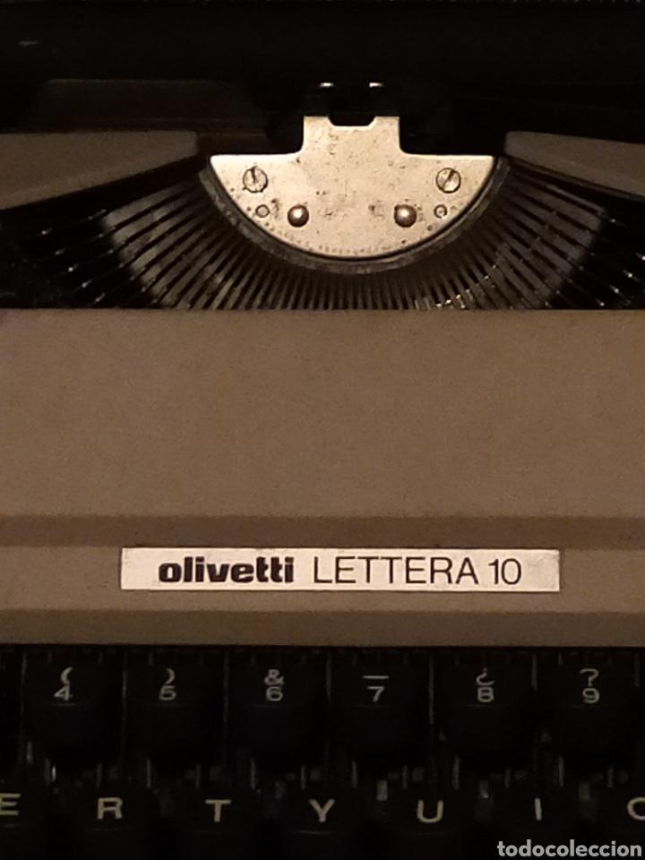 Antigüedades: OLIVETTI LETTERA 10 - Foto 2 - 203460966