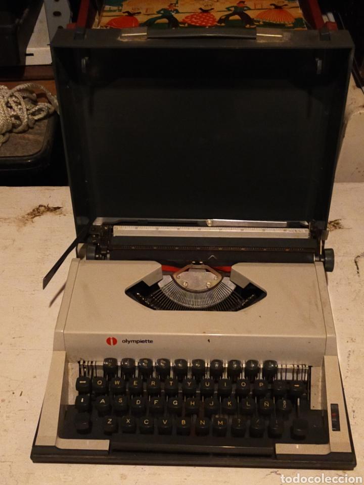 ANTIGUA MAQUINA OLIMPIETTE (Antigüedades - Técnicas - Máquinas de Escribir Antiguas - Otras)