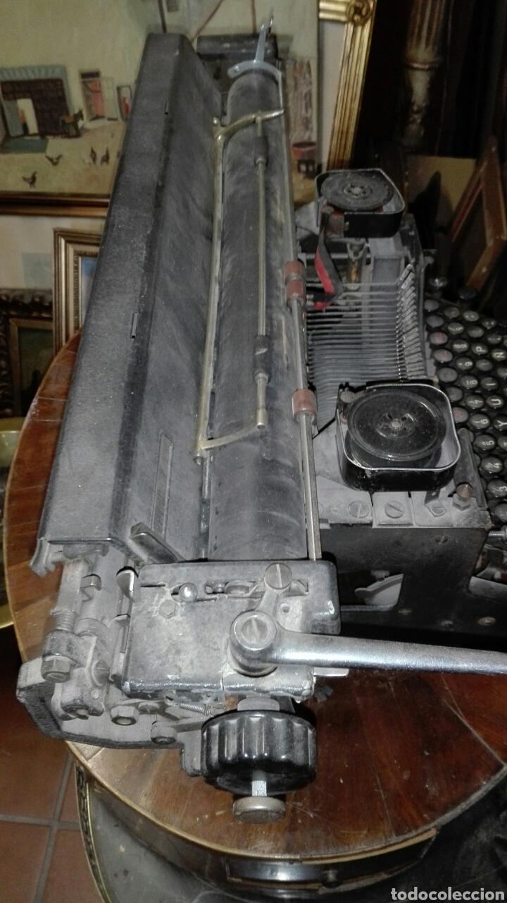 Antigüedades: Maquina de escribir gastos de envío mínimos 20€ - Foto 6 - 203504396