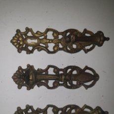 Antigüedades: 3 TIRADORES. Lote 203595500