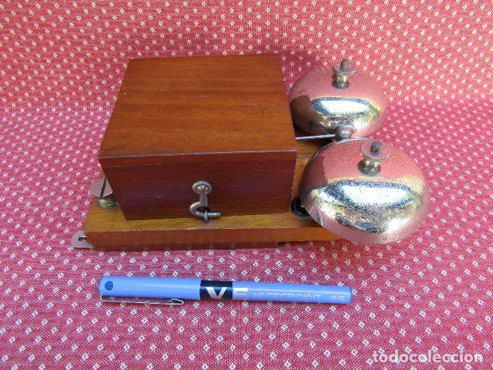 Teléfonos: TIMBRE O SONNERIA DE CALIDAD, PARA TELÉFONOS ANTIGUOS, fabricado en 1933. - Foto 2 - 203599737