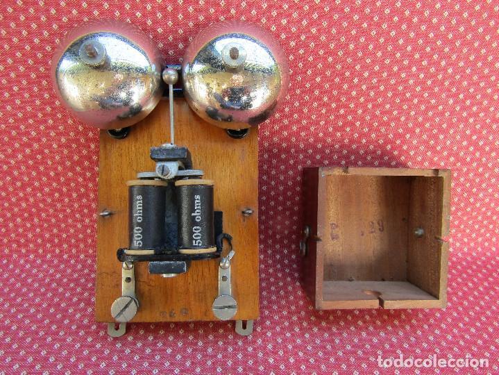 Teléfonos: TIMBRE O SONNERIA DE CALIDAD, PARA TELÉFONOS ANTIGUOS, fabricado en 1933. - Foto 5 - 203599737