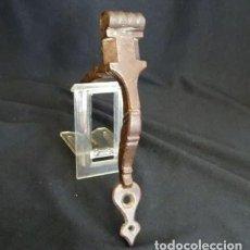 Antigüedades: PIEZA PESTILLO, SIGLO XVIII, HIERRO FORJA, FOJADO. Lote 203775960
