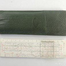 Antigüedades: REGLA DE CALCULO FABER CASTEL 67/54B DAEMSTADT GERMANY PIEZA DE COLECCIÓN. Lote 203792561
