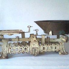Antigüedades: ANTIGUA BALANZA DE HIERRO ALEMANA. Lote 203811462