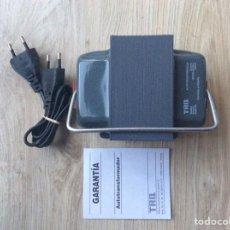 Antigüedades: TRANSFORMADOR 125/220V 300VA MARCA TRQ NUEVO ELECTRICIDAD. Lote 269652678