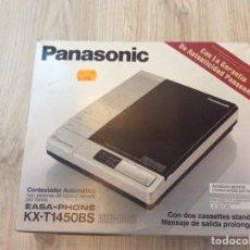 Teléfonos: CONTESTADOR AUTOMÁTICO PANASONIC EN SU CAJA. Lote 203832640