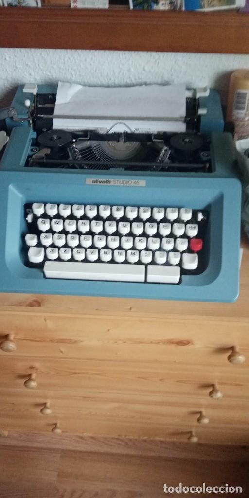 MAQUINA DE ESCRIBIR OLIVETTI STUDIO 46 (Antigüedades - Técnicas - Máquinas de Escribir Antiguas - Olivetti)