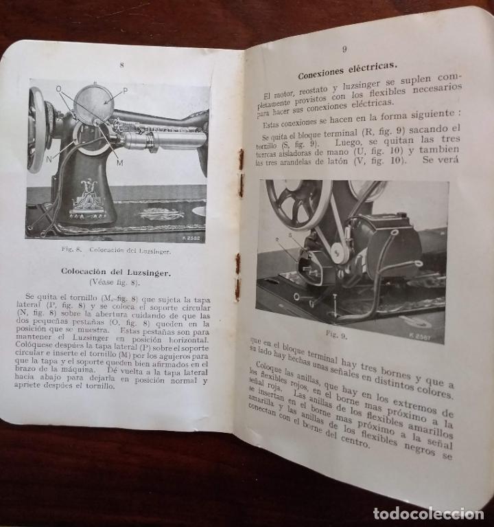 Antigüedades: ANTIGUO MANUAL DE INSTRUCCIONES SINGER, 1929 - Foto 2 - 203900798