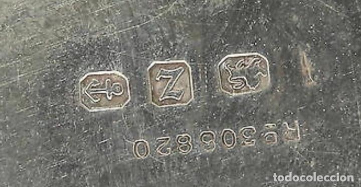 Antigüedades: Báscula antigua en plata inglesa, para cartas - Foto 6 - 203901521