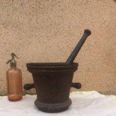 Antigüedades: ENORME MORTERO DE FARMACIA!SIGLO 18!. Lote 203924391