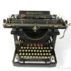 Antigüedades: MAQUINA DE ESCRIBIR REMINGTON Nº10 AÑO 1915 TYPEWRITER SCHREIBMASCHINE. Lote 203932588