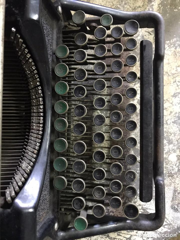 Antigüedades: Maquina de escribir Underwood - Foto 9 - 191625863